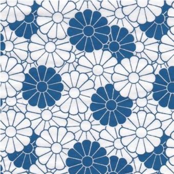 Nr. 119b Blume 3, Blau