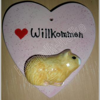 "Herzschild - Meeri ""Herz Willkommen"""