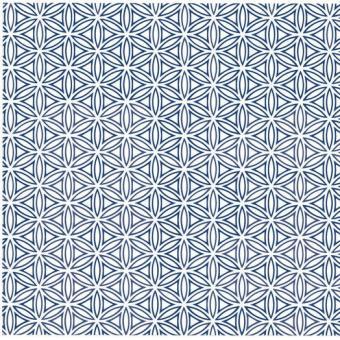 Nr. 207b Lebensblume blau