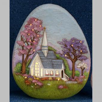Ei mit Motiv 30 cm, auch ausgeschnitten möglich