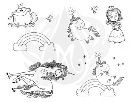 Princess and Unicorns