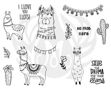 Llama Drama Silkscreen