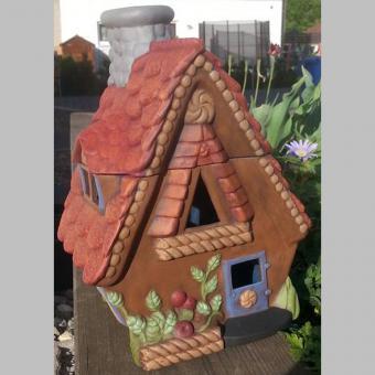 Lebkuchenhaus auch ausgeschnitten möglich