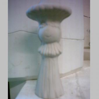 Pilz mit Gesicht 17 cm